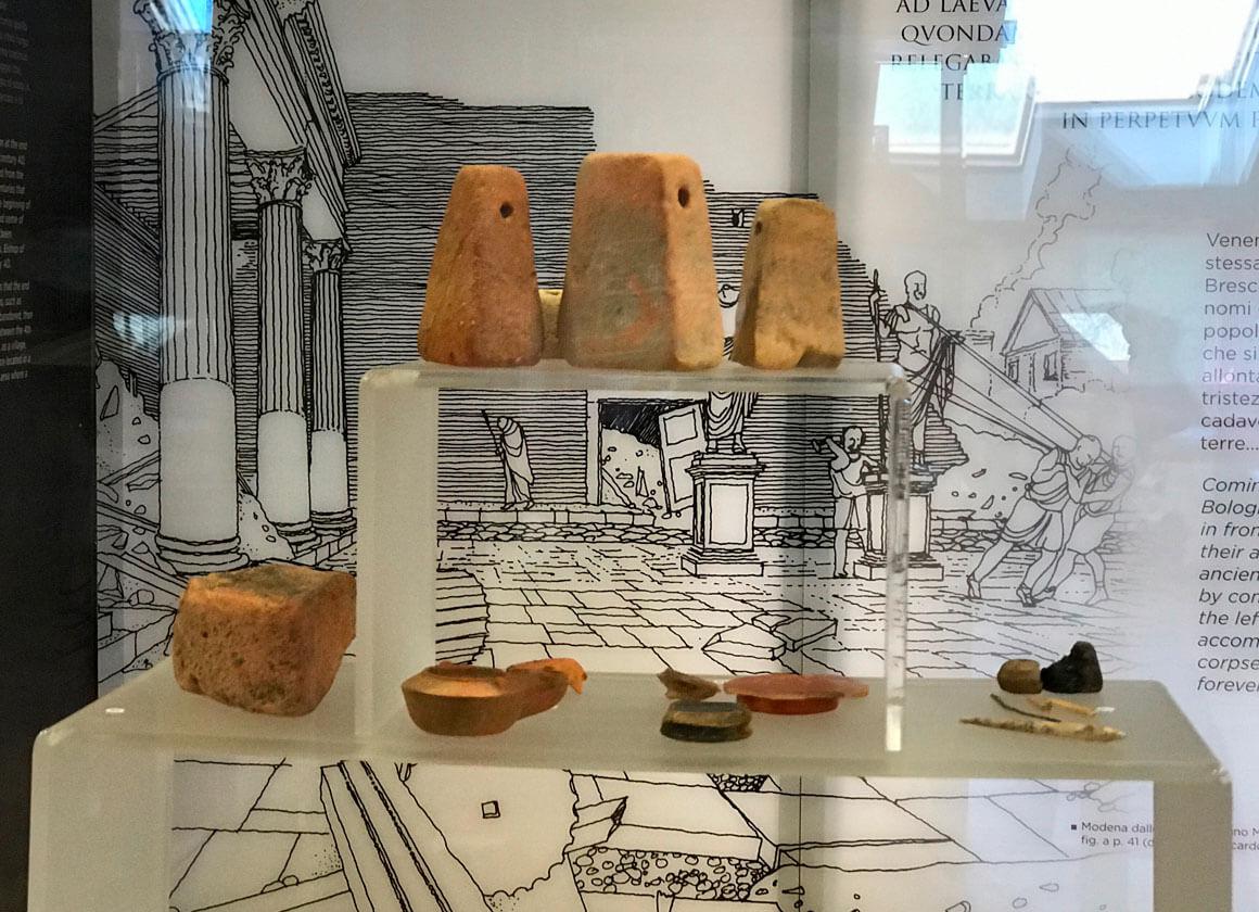 Disegni della Città Romana di Claterna