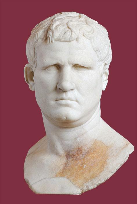 Agrippa, genero di Augusto, patronus di Claterna