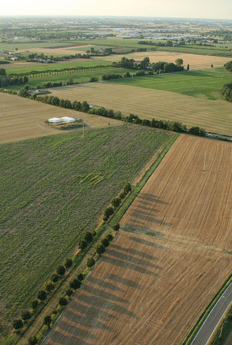 Area degli scavi archeologici della Città Romana di Claterna
