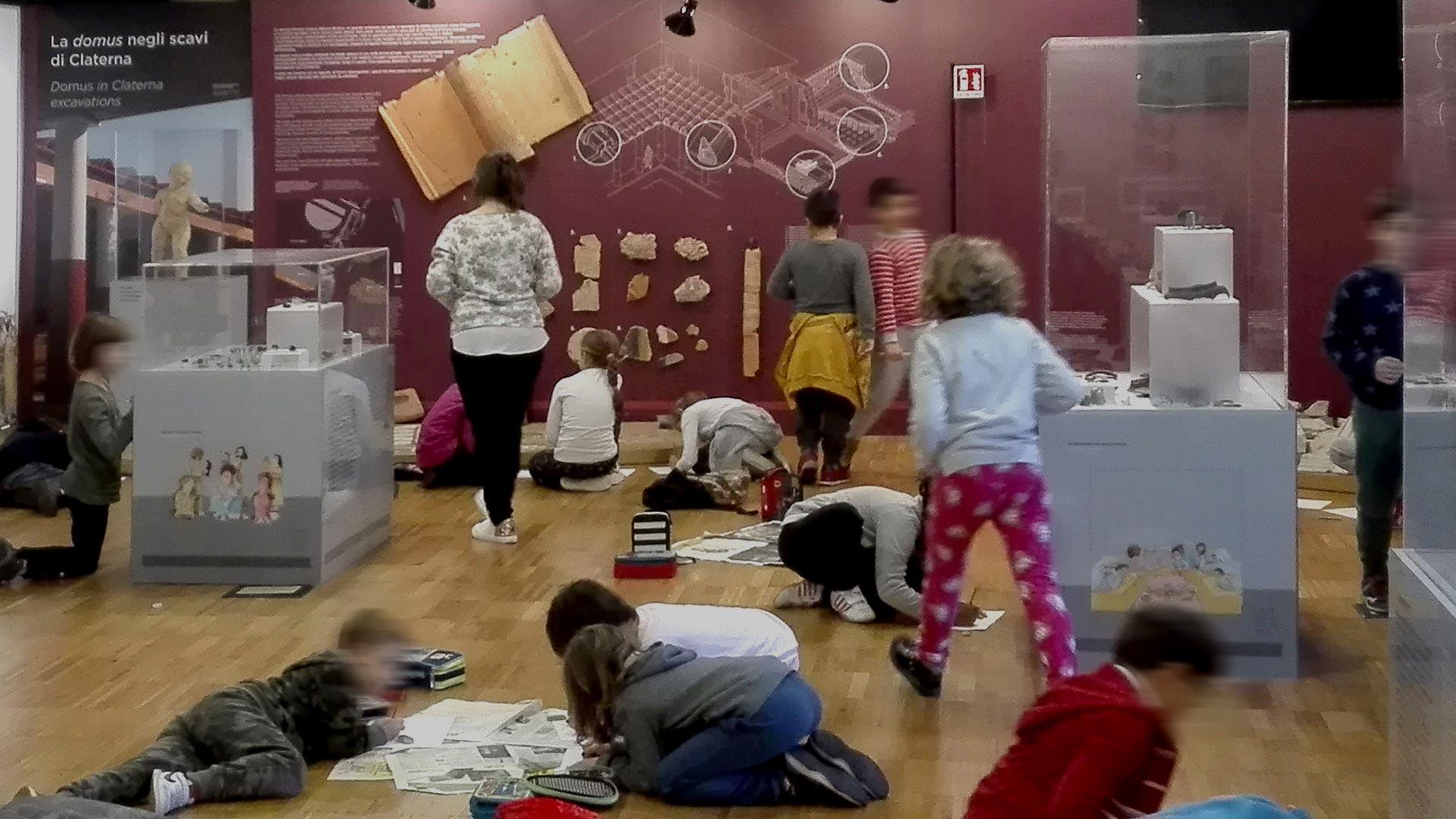 Attività per le scuole al Museo di Claterna