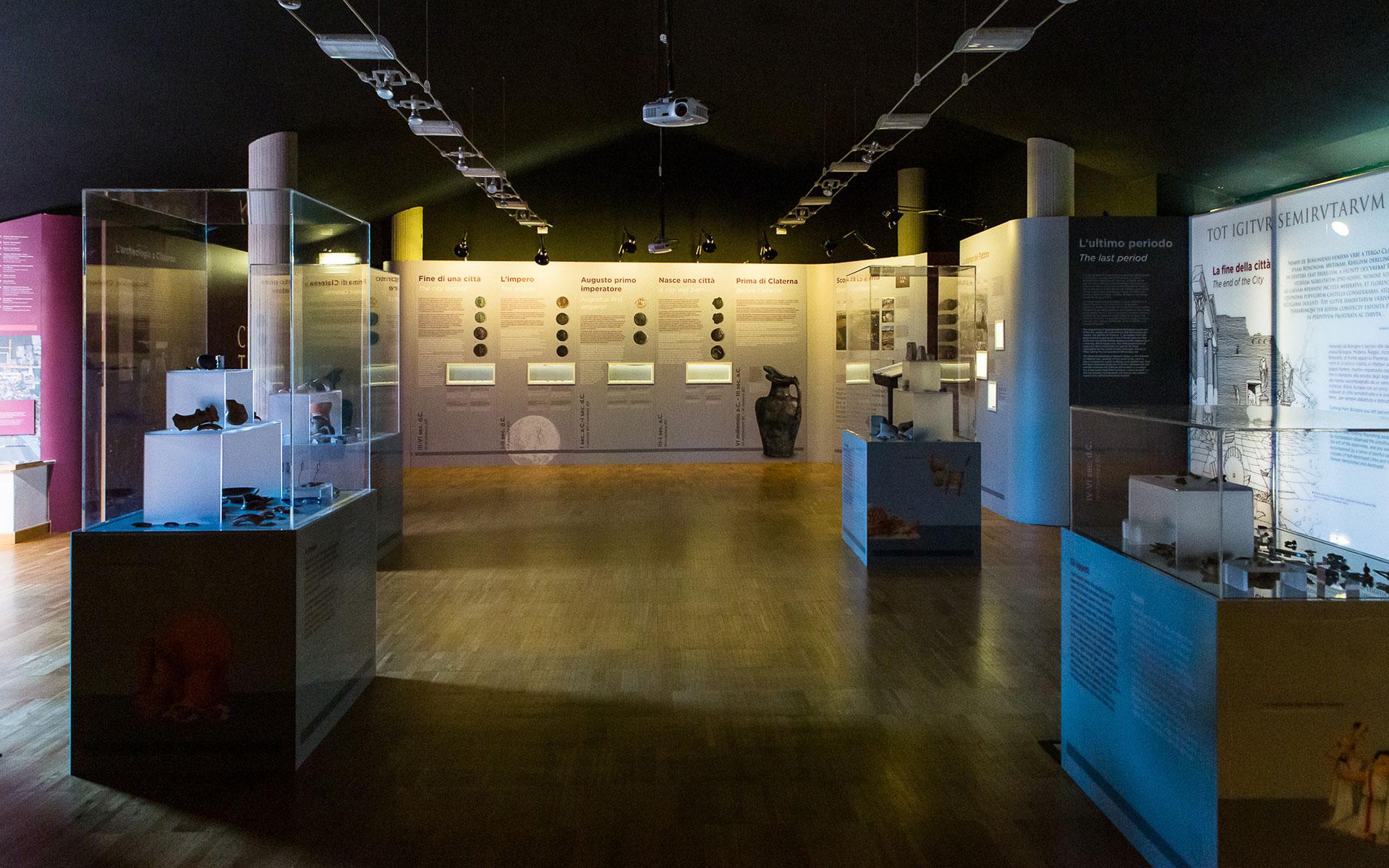 Museo degli scavi archeologici della Città Romana di Claterna